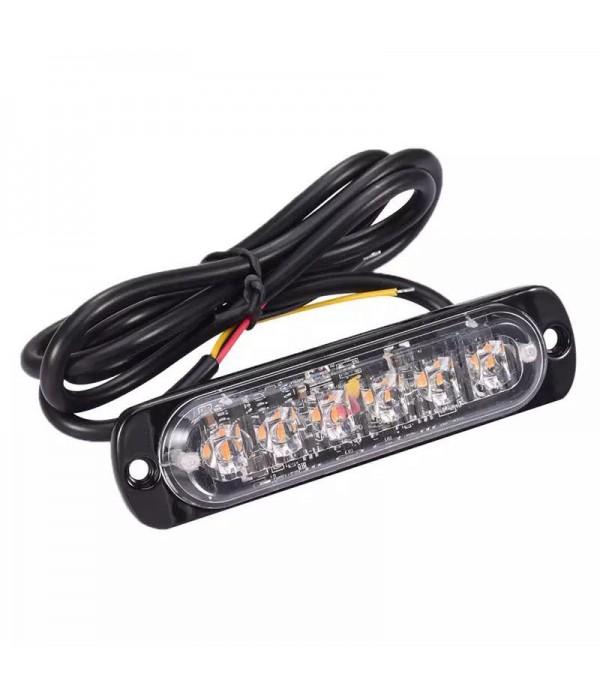 Lampa Stroboscop SLIM Cu LED - Culoare Galben
