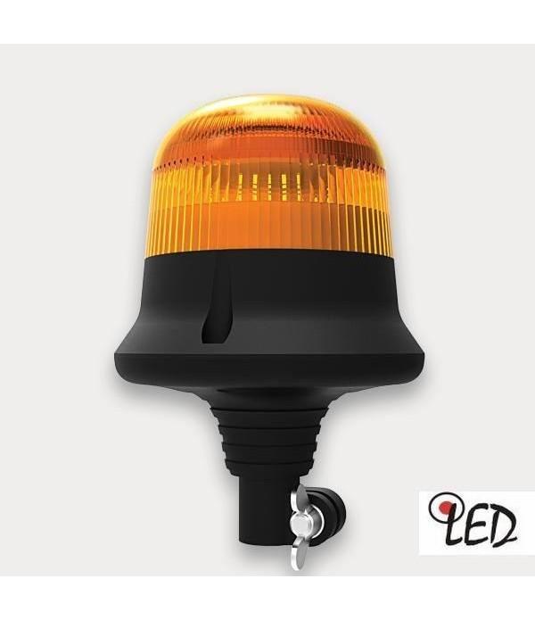 Girofar 12/24V h204, 9 LED-uri, prindere pe tija F...