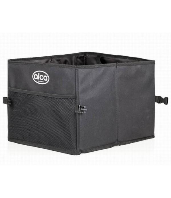 Organizator portbagaj, cu compartiment, tip lada p...