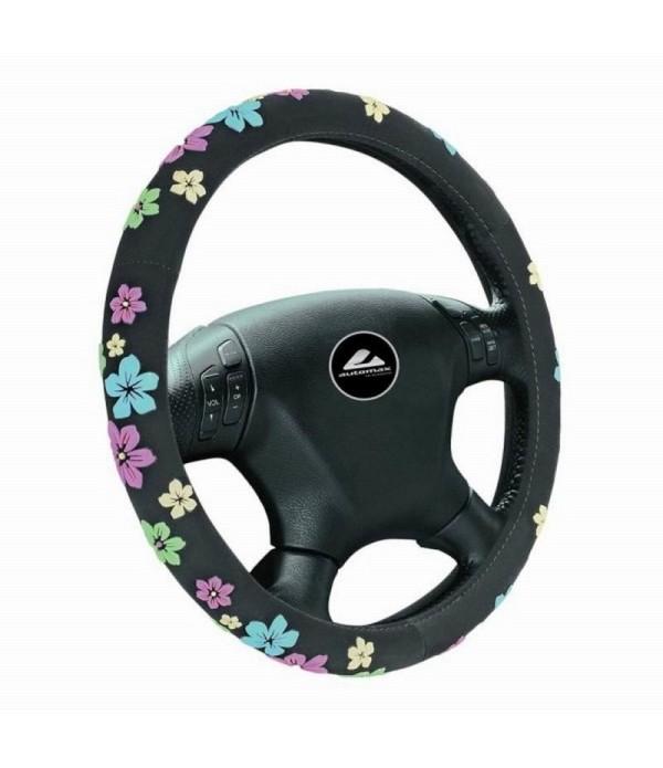 Husa volan 35 - 37cm imprimeu floral 2561 Automax