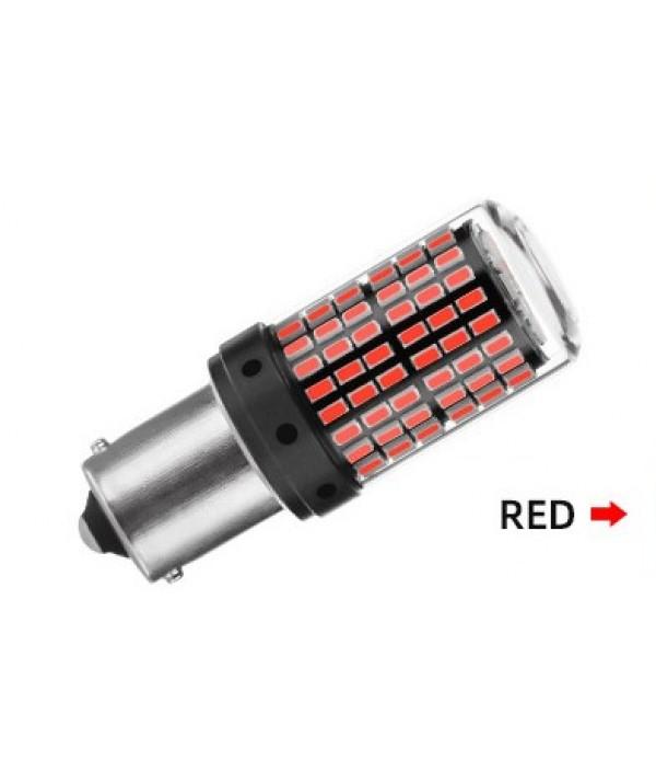 Set 2 Becuri LED Canbus pozitie rosie BA15S P21W