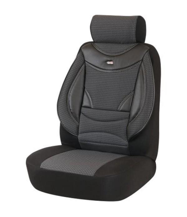Set huse scaune auto, universale, culoare gri