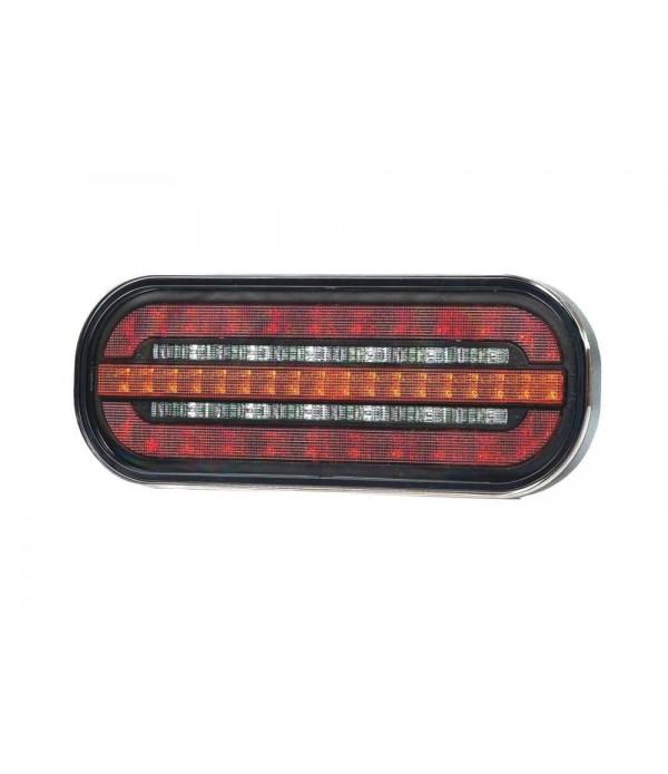 Lampa spate 185x75, 3 functii, cu LED, semnalizare...